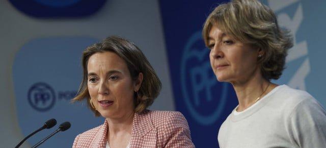 Rueda de prensa Cuca Gamarra e Isabel García Tejerina