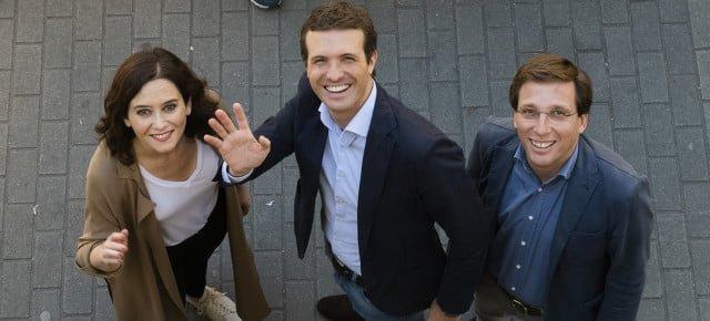Pablo Casado votaciones Madrid