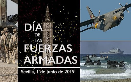 Seville will host on June 1 the parade of the Day of the Armed Forces that commemorates the 30 years of peace missions