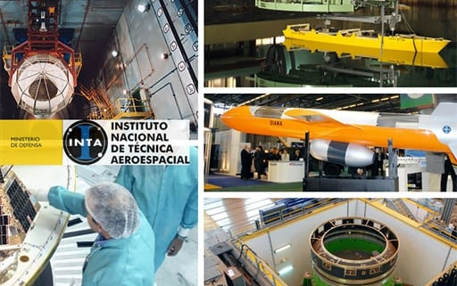 Margarita Robles visits the National Institute of Aerospace Technology (INTA)