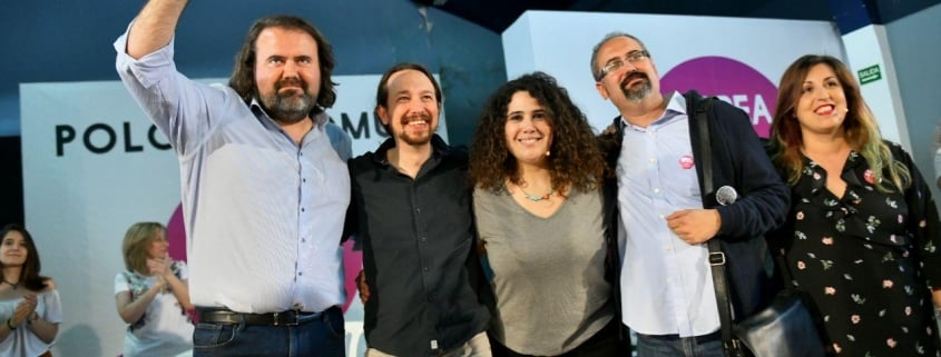 """Iglesias: """"Our program to form a government coalition will be that in this country the law will be fulfilled by the whole world, not just the humble people"""""""