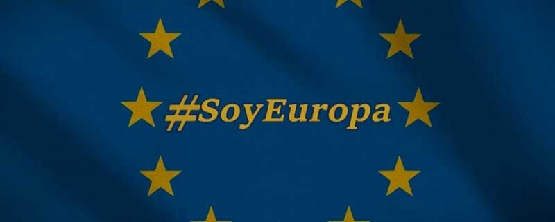 Spanish businessmen with Europe