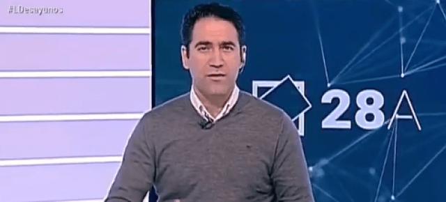 Teodoro García Egea en Los Desayunos de TVE