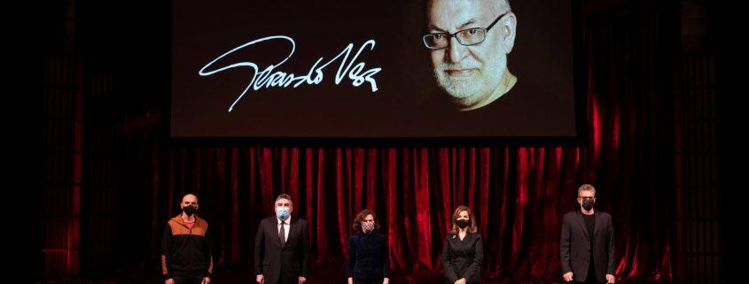 Theater and cinema pay tribute to Gerardo Vera